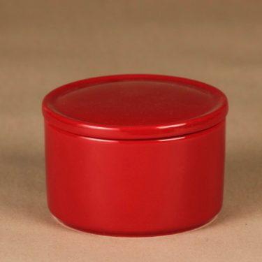 Arabia Teema purnukka, punainen, suunnittelija Kaj Franck,