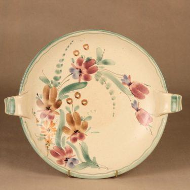 Kupittaan savi  bowl, signed designer Eva Suija