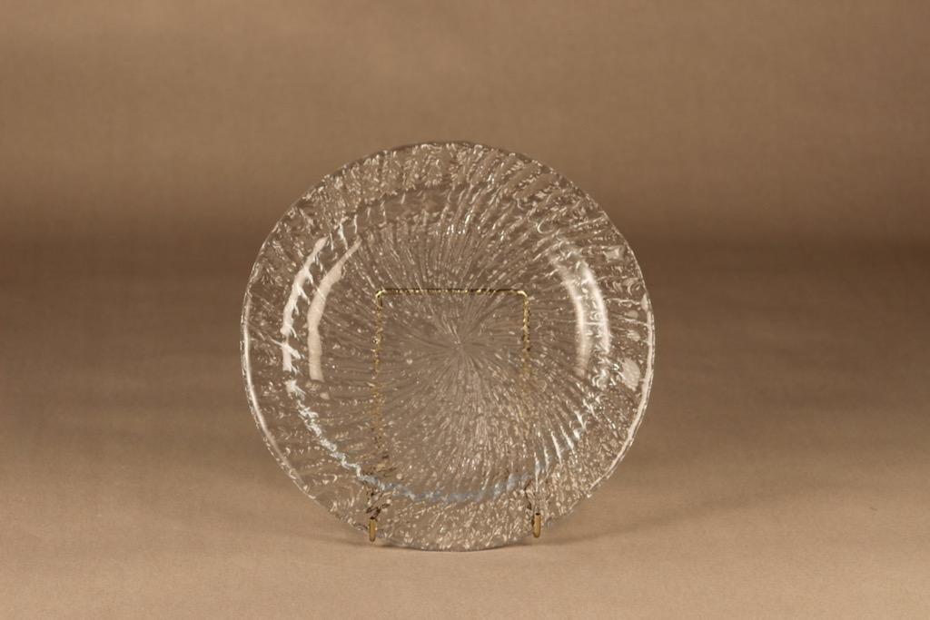 Riihimäen lasi Tupru dinner plate designer Nanny Still