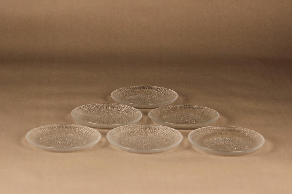 Iittala Ultima Thule plate 15 cm, 6 pcs designer Tapio Wirkkala