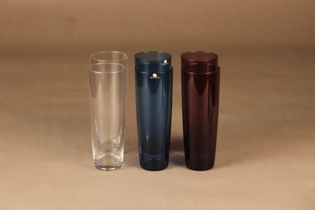 Iittala glass 40 cl, 6 pcs designer Tapio Wirkkala