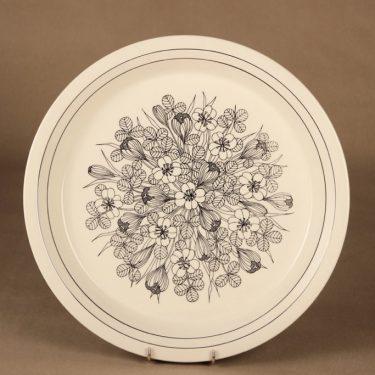 Arabia Krokus serving plate designer Esteri Tomula