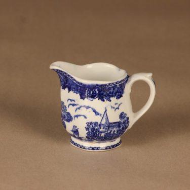 Arabia Maisema kermakko, sininen, suunnittelija tuntematon,