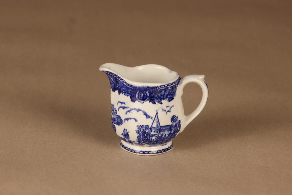Arabia Maisema creamer, blue designer unknown