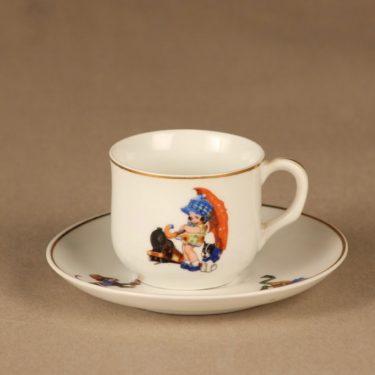 Arabia coffee cup, childrens designer unknown