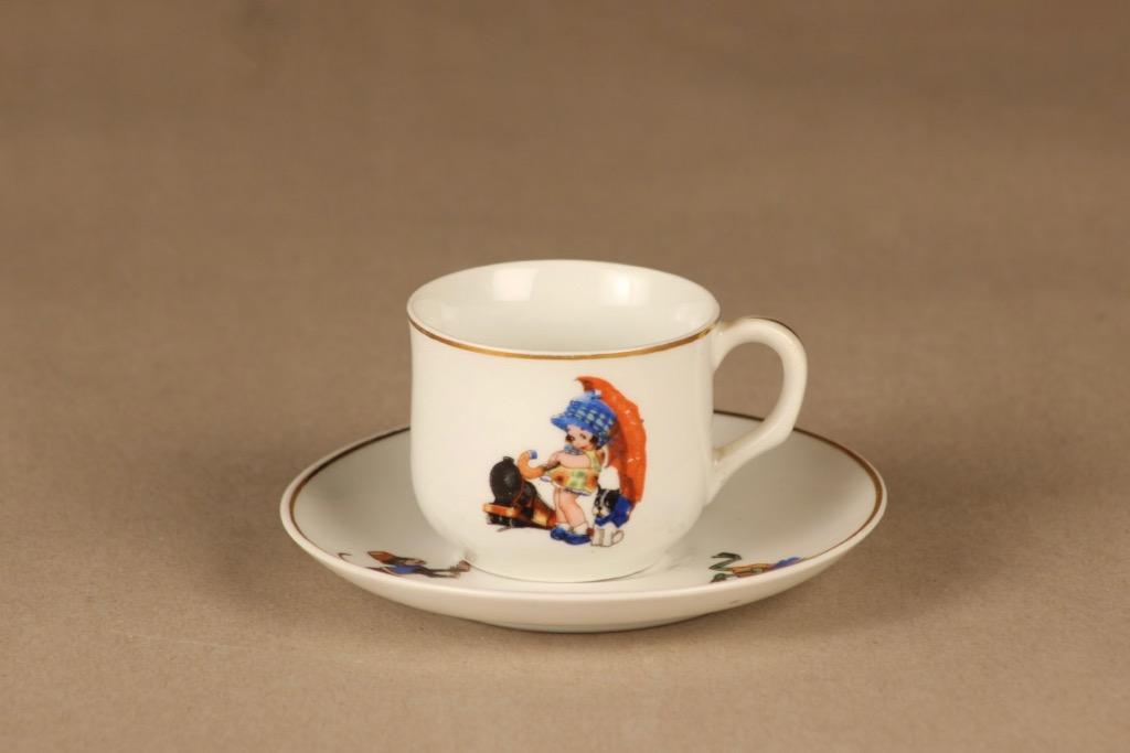 Arabia   kahvikuppi, lasten, suunnittelija tuntematon, lasten, pieni