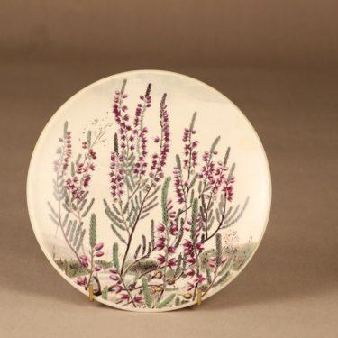 Arabia Provincial flower wall plate Heather designer Kirsti Brandt