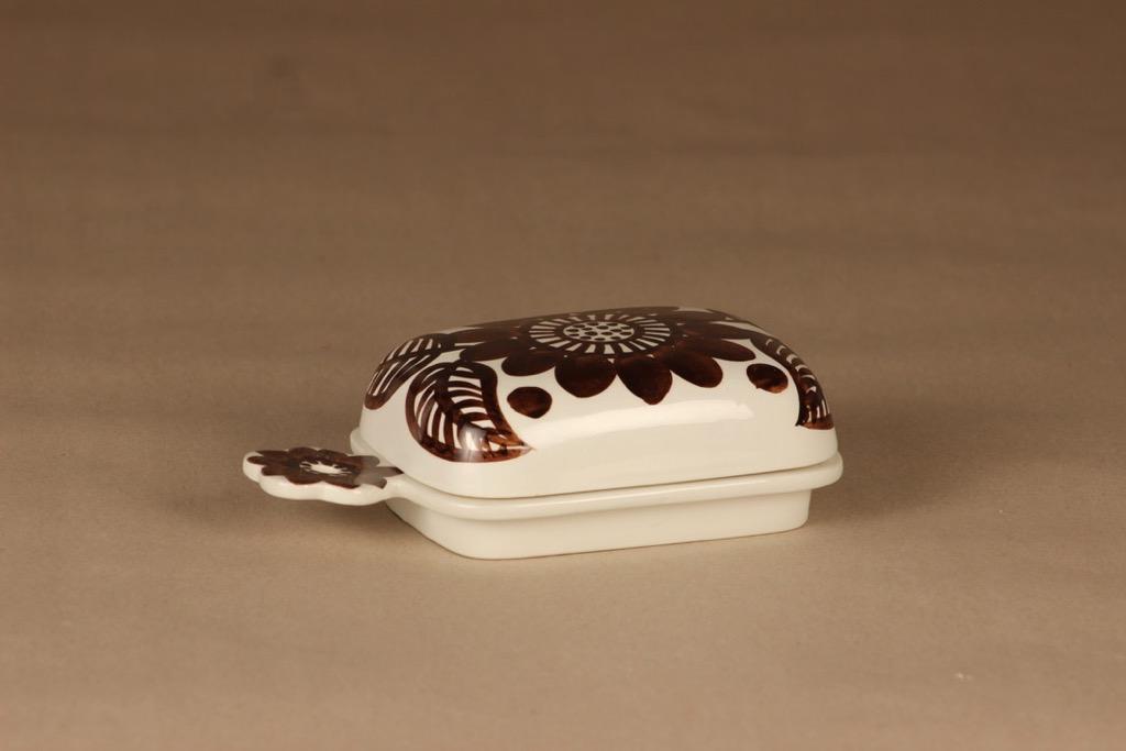 Arabia Köökki butter box, hand-painted designer Gunvor Olin-Grönqvist