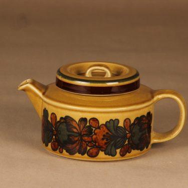 Arabia Otso teekannu, 1.35 l, suunnittelija Raija Uosikkinen, 1.35 l, retro