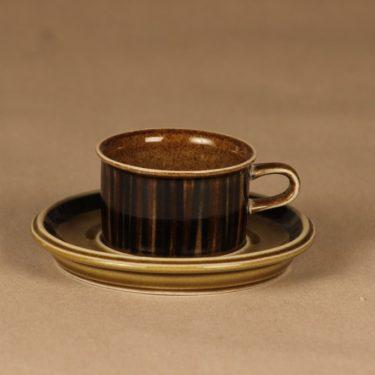 Arabia Kosmos mocca cup, blow decorative designer Gunvor Olin-Grönqvist