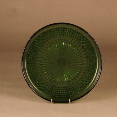 Riihimäen lasi Barokki serving plate, 27 cm designer Erkkitapio Siiroinen