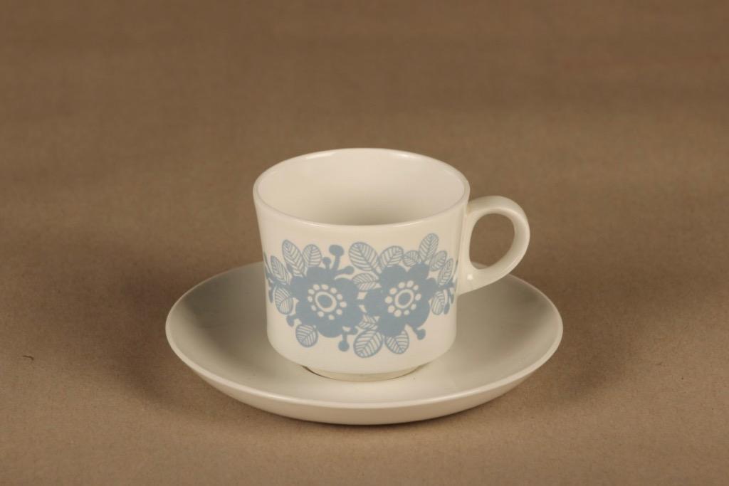 Arabia BR coffee cup blue 1.5 dl designer unknown