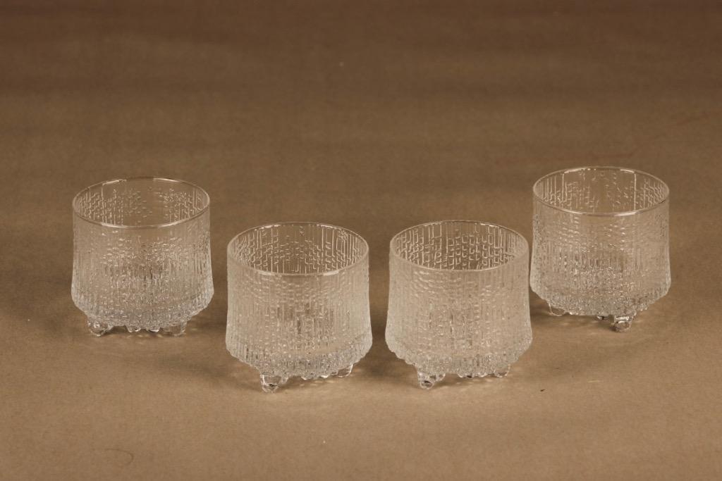 Iittala Ultima Thule glass 4 pcs designer Tapio Wirkkala
