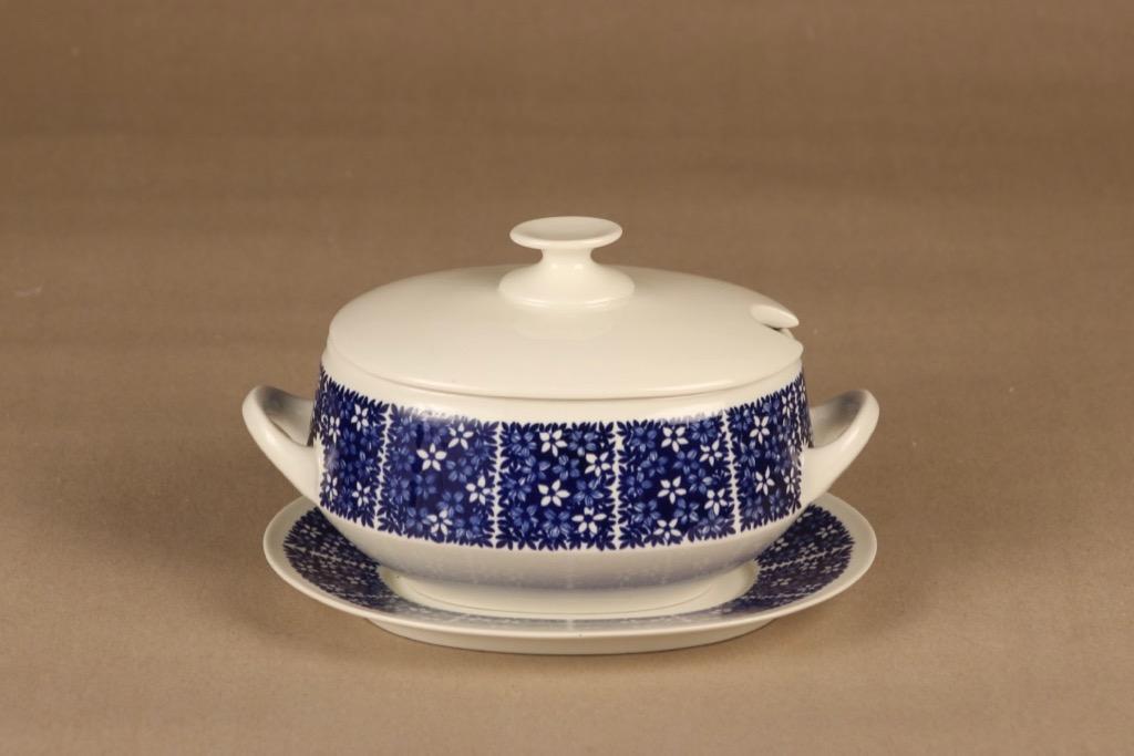 Arabia Pitsi sauce jug with lid designer Raija Uosikkinen