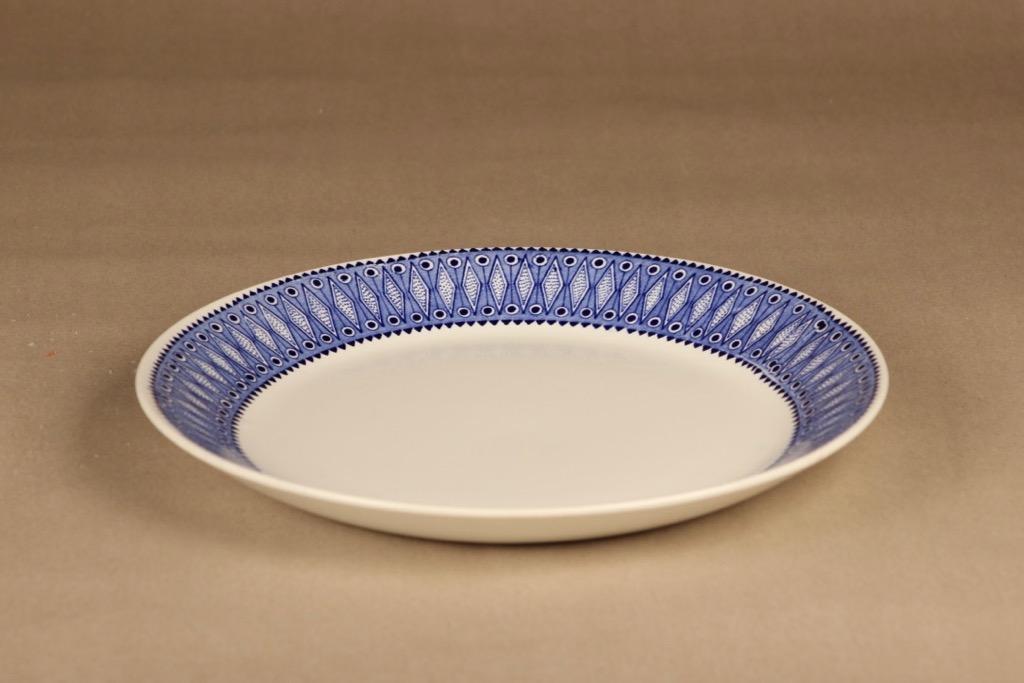 Arabia Lobelia serving plate designer unknown