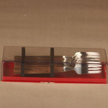 Fiskars Triennale haarukka, kirkas, ruskea, 6 kpl, suunnittelija Bertel Gardberg,