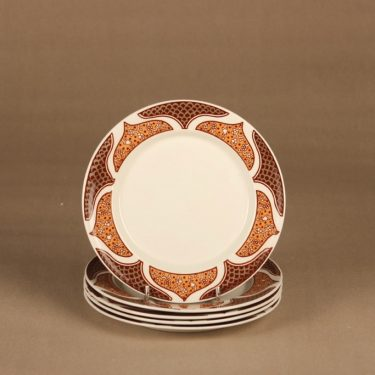Arabia KS Arctica plate 17.5 cm, 5 pcs