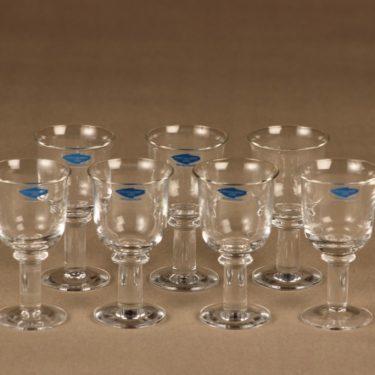 Nuutajärvi Arctica schnapps glass, 7 pcs designer Inkeri Leivo