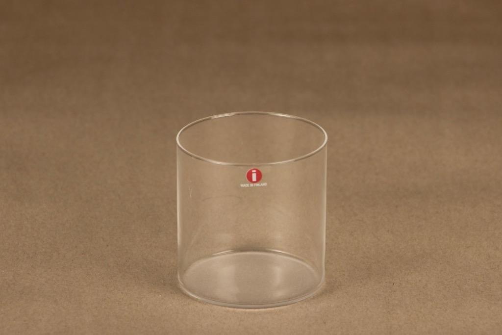 Iittala Marcel lasi, kirkas, matta, suunnittelija Timo Sarpaneva,