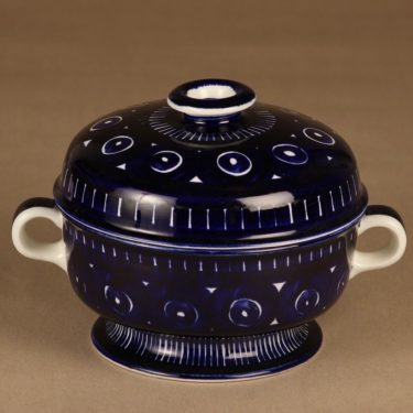 Arabia Valencia bowl hand-painted 1.08 l designer Ulla Procope