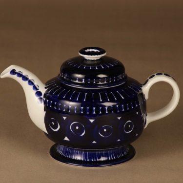 Arabia Valencia teekaadin, 1 l, käsinmaalattu, suunnittelija Ulla Procope, 1 l, käsinmaalattu, signeerattu