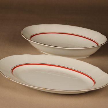 Arabia AS  serving plate 2 pcs designer unknown