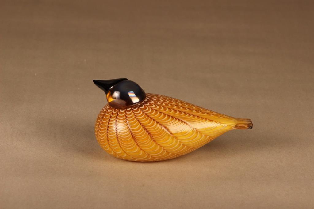 Nuutajärvi annual bird Hakki 1996 designer Oiva Toikka