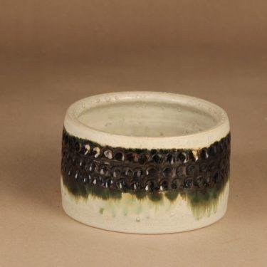 Arabia art ceramic bowl, signed designer Peter Winquist
