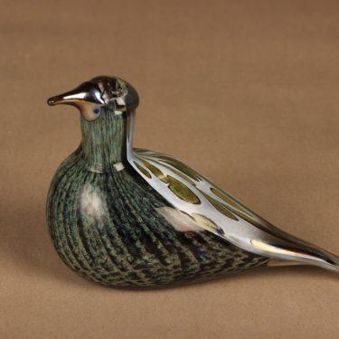 Nuutajärvi annual bird Song Trush 1997 designer Oiva Toikka