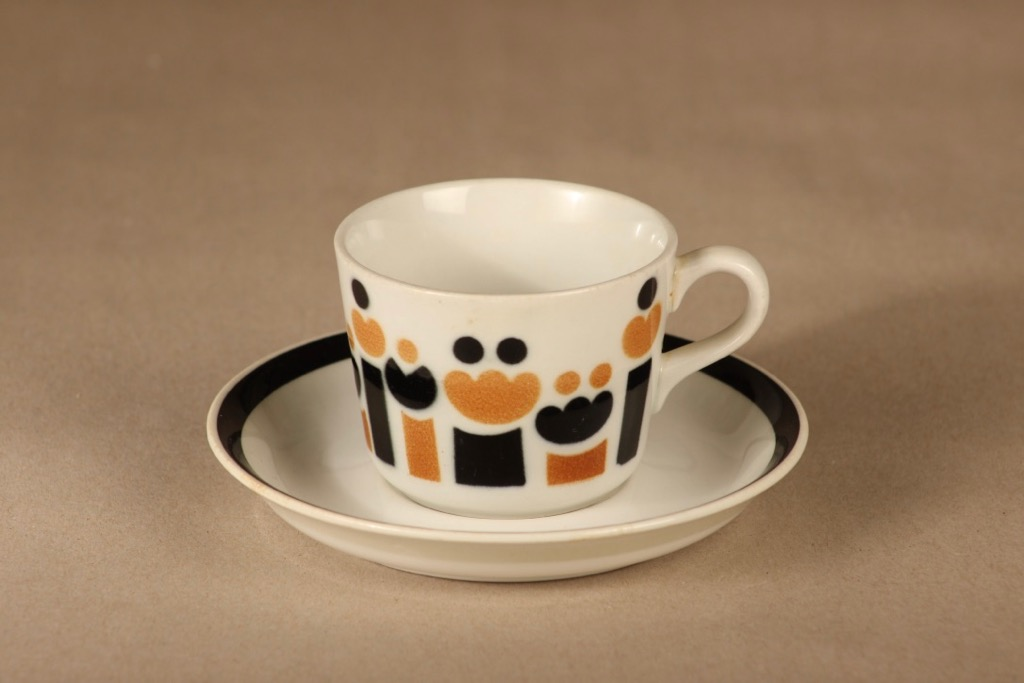 Arabia AA coffee cup, blow decorative designer unknown