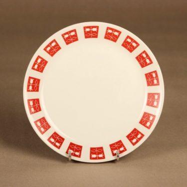 Arabia Hilppa plate 17.5 cm designer Raija Uosikkinen