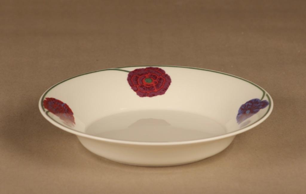 Arabia Illusia soup plate designer Fujiwo ishimoto