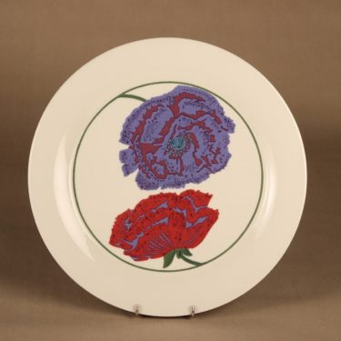 Arabia Illusia plate 30 cm designer Fujiwo ishimoto