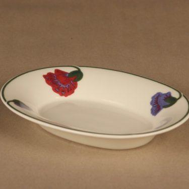 Arabia Illusia serving plate, small designer Fujiwo ishimoto