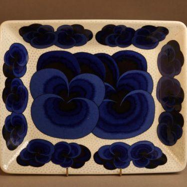 Arabia Pro Arte taidekeramiikkavati, käsinmaalattu, suunnittelija Birger Kaipiainen, käsinmaalattu, orvokki