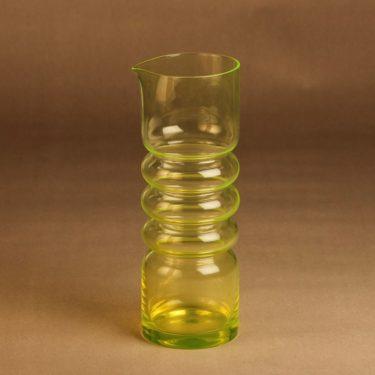 Riihimäen lasi Tzarina pitcher 1.5 l designer Nanny Still