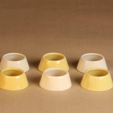 Arabia Kilta egg ring 6 pcs designer Kaj Franck