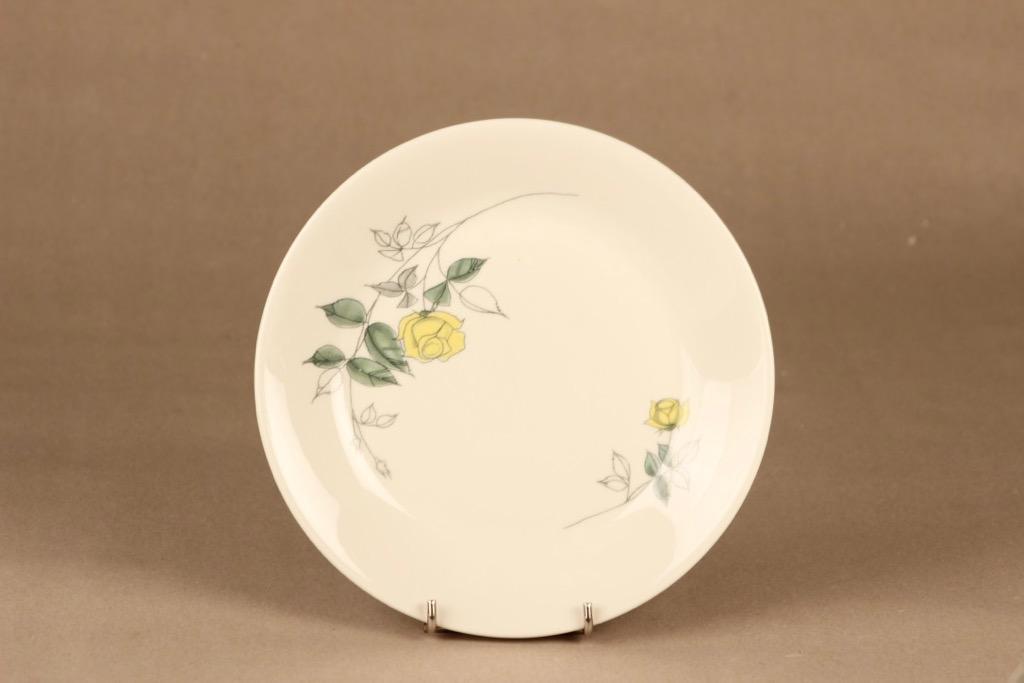 Arabia Julia plate 17.5 cm, hand-painted designer Hilkka-Liisa Ahola