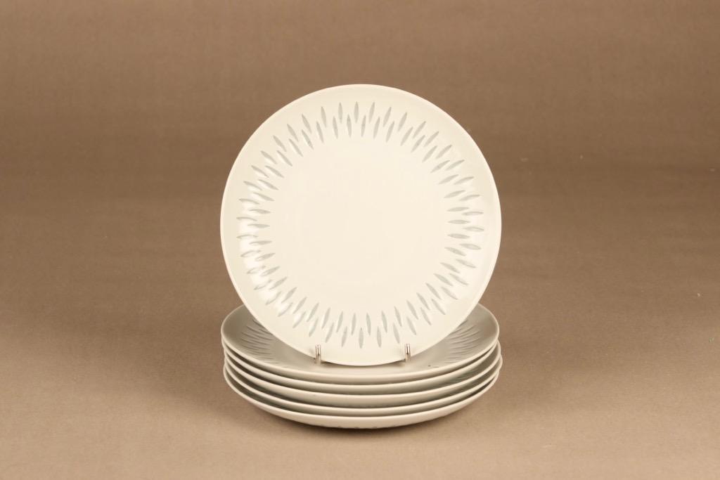 Arabia rice porcelain plate 19 cm designer Friedl-Heinz Fjellberg