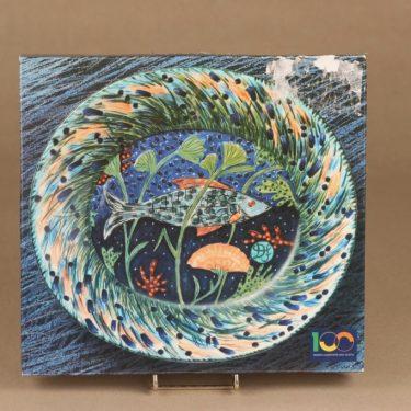 Arabia Hubertus plate Pro Arte Ahven designer Dorrit von Fieandt