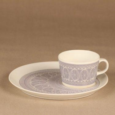 Arabia Susan cup and plate 1960, tv-set designer Gunvor Olin-Grönqvist