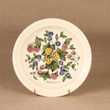 Arabia Botanica lautanen, syvä, suunnittelija Esteri Tomula, syvä, serikuva, marja