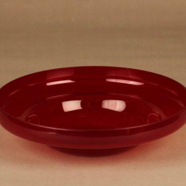 Riihimäen lasi Pomona kulho, 26 cm suunnittelija Helena Tynell