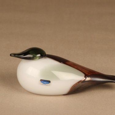 Nuutajärvi bird Eider Male designer Oiva Toikka