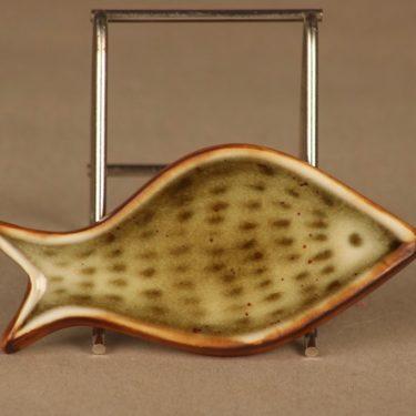 Arabia GOG seinälaatta kala designer Gunvor Olin-Grönqvist