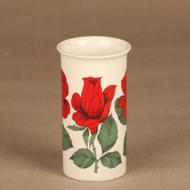 Arabia Botanica maljakko Rosa Polyantha suunnittelija Esteri Tomula