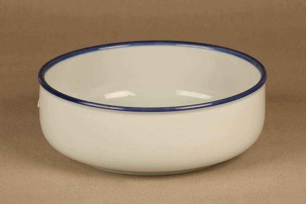 Arabia Wellamo salad bowl, hand-painted designer Peter Winquist