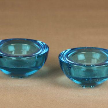 Iittala Ballo candle lantern, light blue 2 pcs designer Annaleena Hakatie