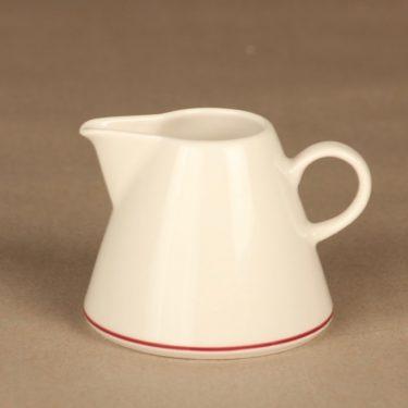 Arabia Harlekin Red Hat kermakko, valkoinen, punainen, suunnittelija Inkeri Leivo,