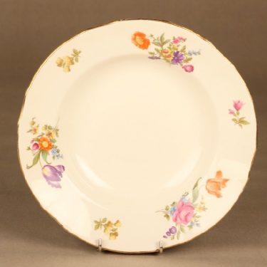 Arabia Kesäkukka lautanen, syvä, suunnittelija , syvä, kukka
